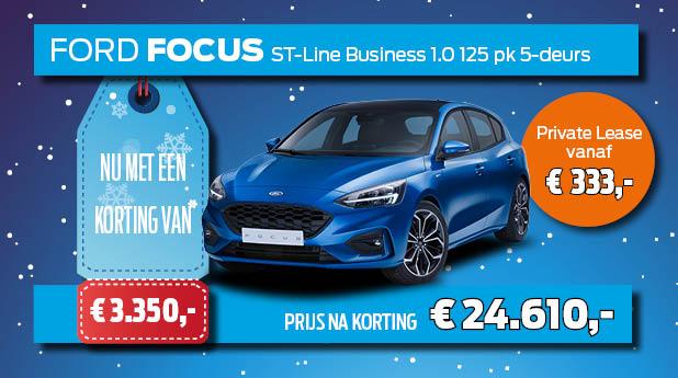 Ford Focus voorraadvoordeel