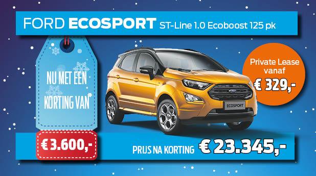 Voorraadvoordeel EcoSport