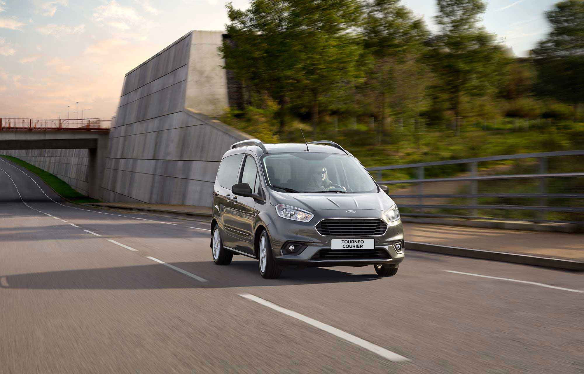 Nieuwe Ford Tourneo Courier
