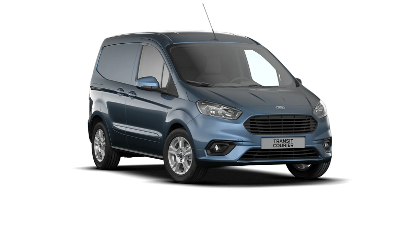 Ford Transit Courier Limited Chrome Blue