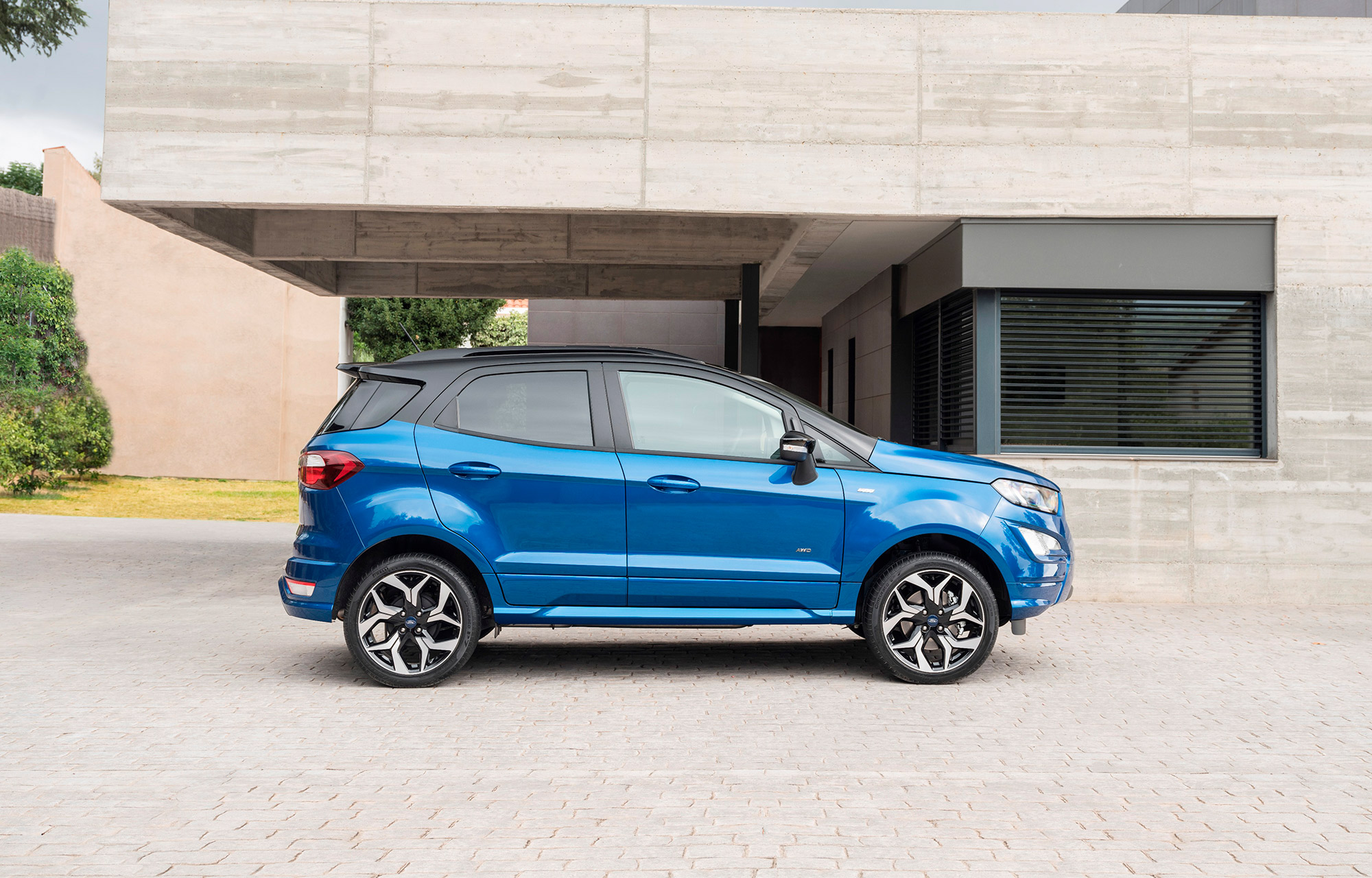 De robuuste stadsauto Ford EcoSport