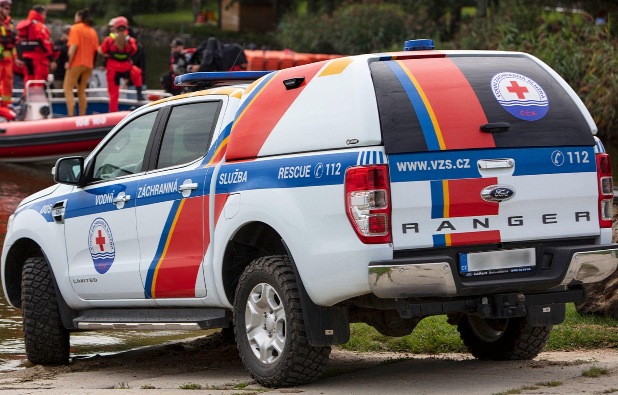 Ford Ranger Hulpdiensten