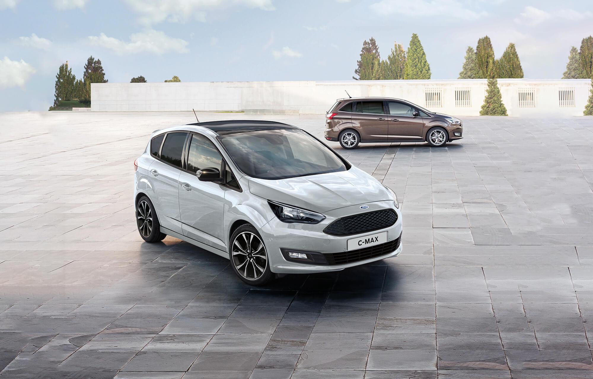 De nieuwe Ford C-MAX Sport is nu te bestellen vanaf € 30.620