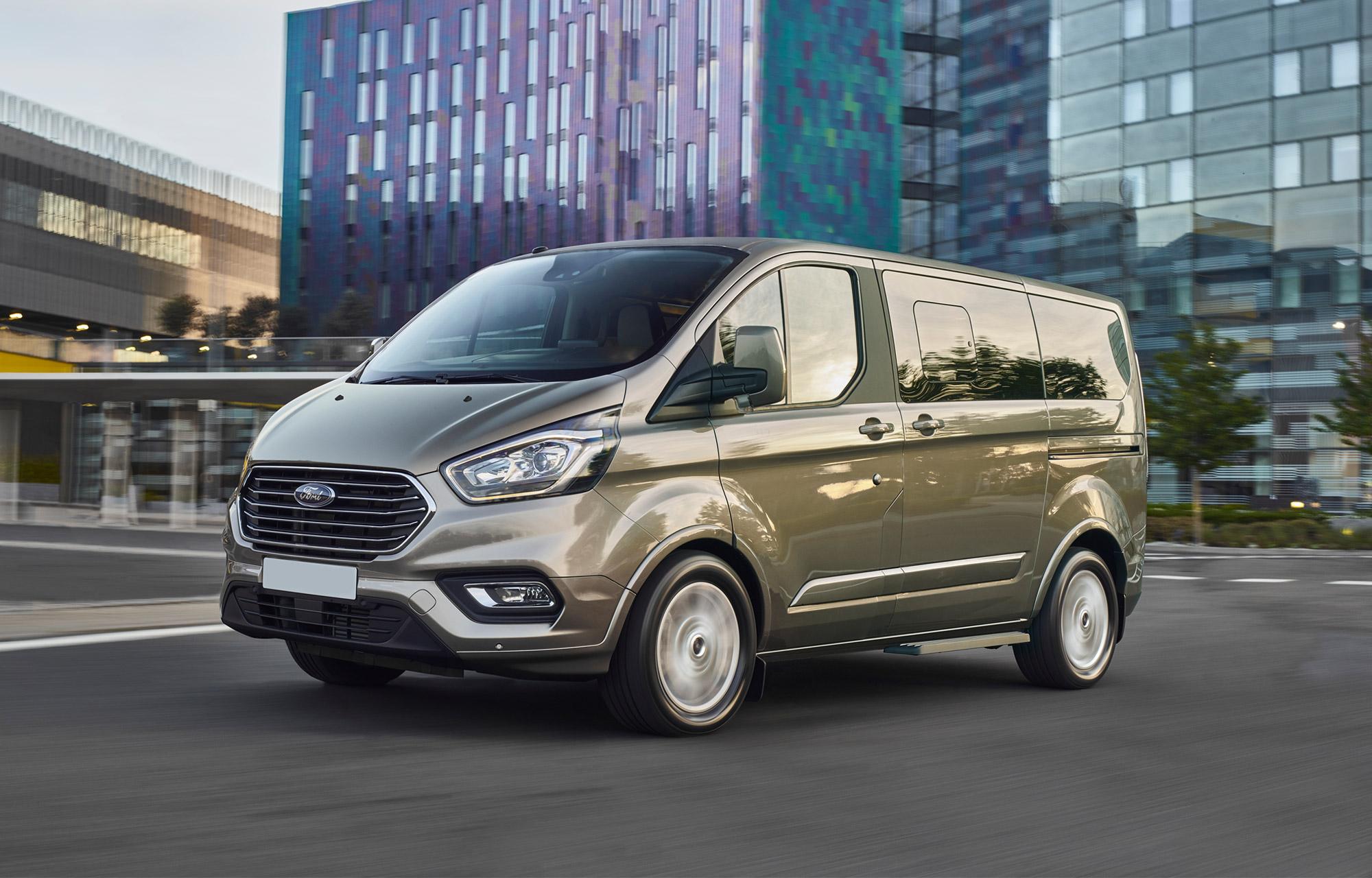 Nieuwe Ford Tourneo Custom