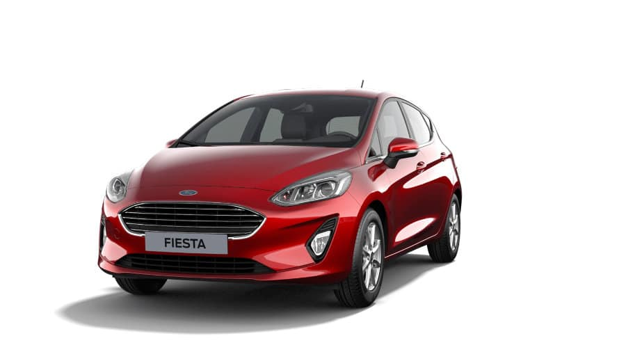 Ford Fiesta Titanium Red