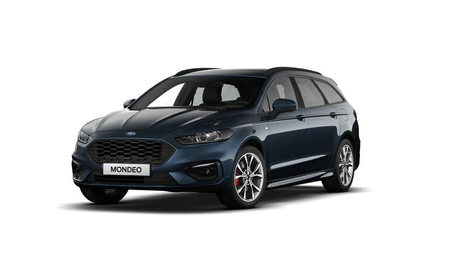 Ford Mondeo Titanium Hybrid Wagon Ruby Red