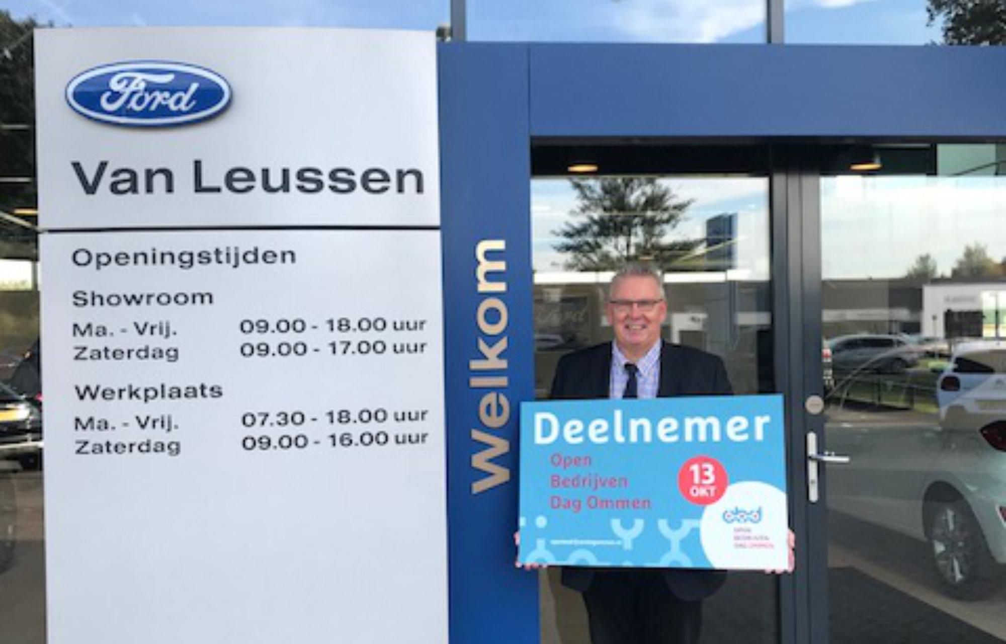 Welkom openbedrijvendag Van Leussen