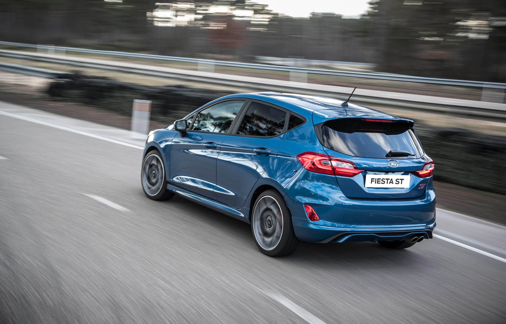 Nieuwe Ford Fiesta ST release