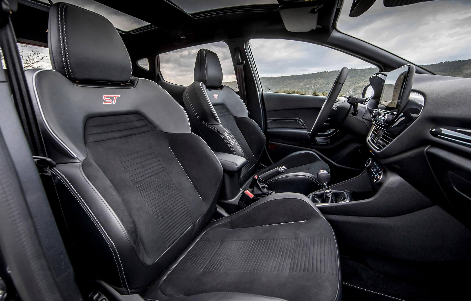 De nieuwe Ford Fiesta ST interieur