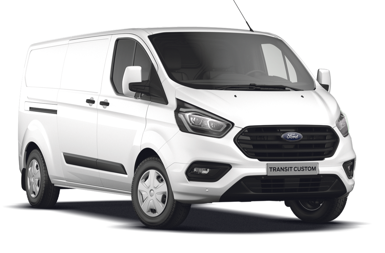 Nieuwe Ford Transit Custom Upgrade Bonus