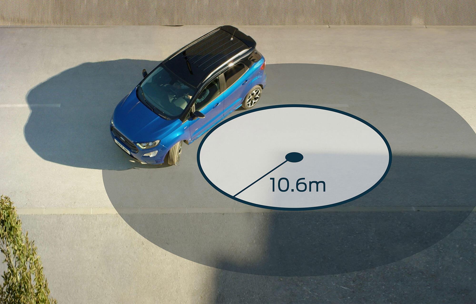 Ford EcoSport rijervaring ondersteuning bij bochtenwerk