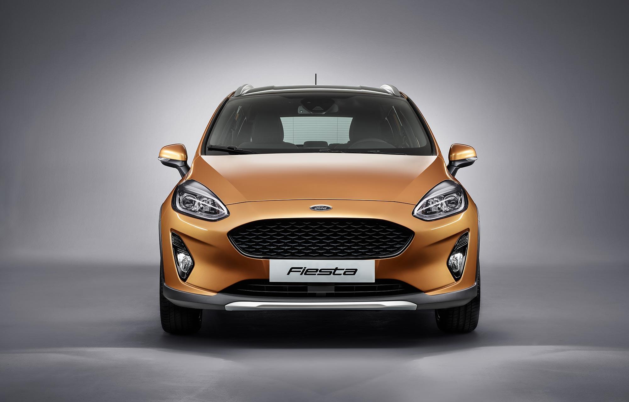 Nieuwe Ford Fiesta Active