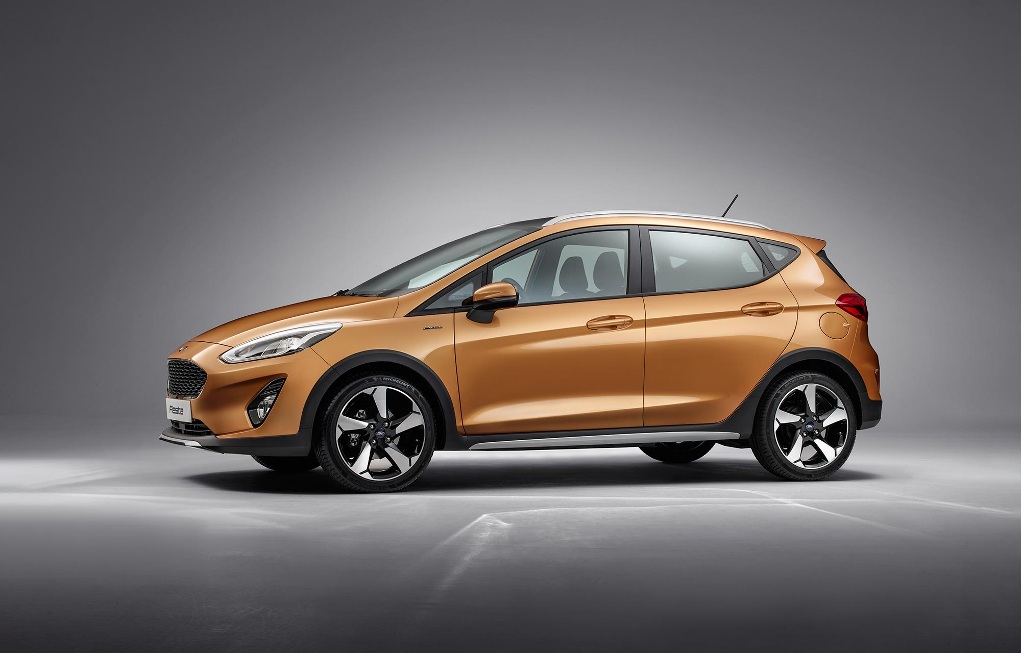 Nieuwe Ford Fiesta Active release
