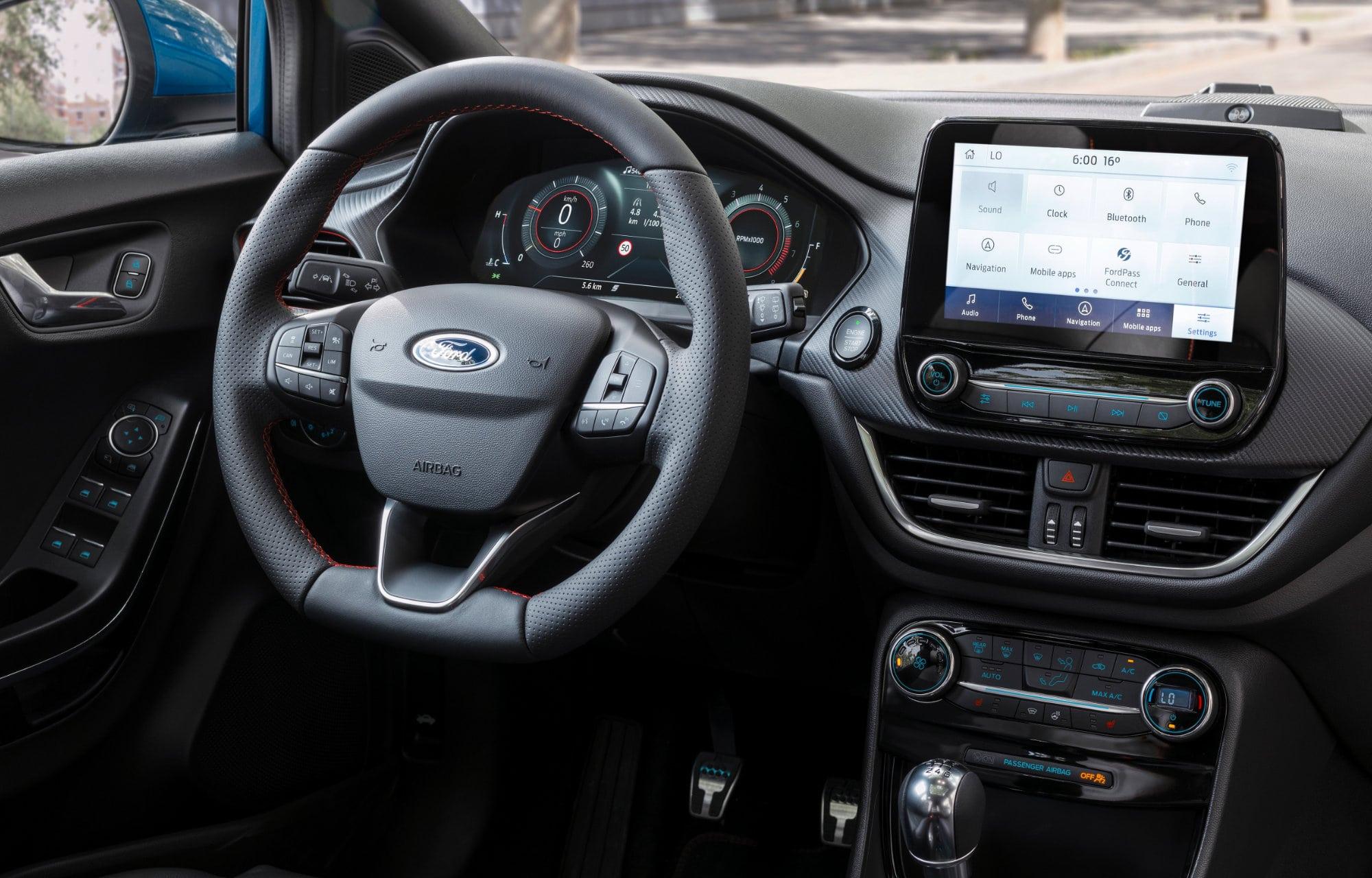 Ford Puma met SYNC 3