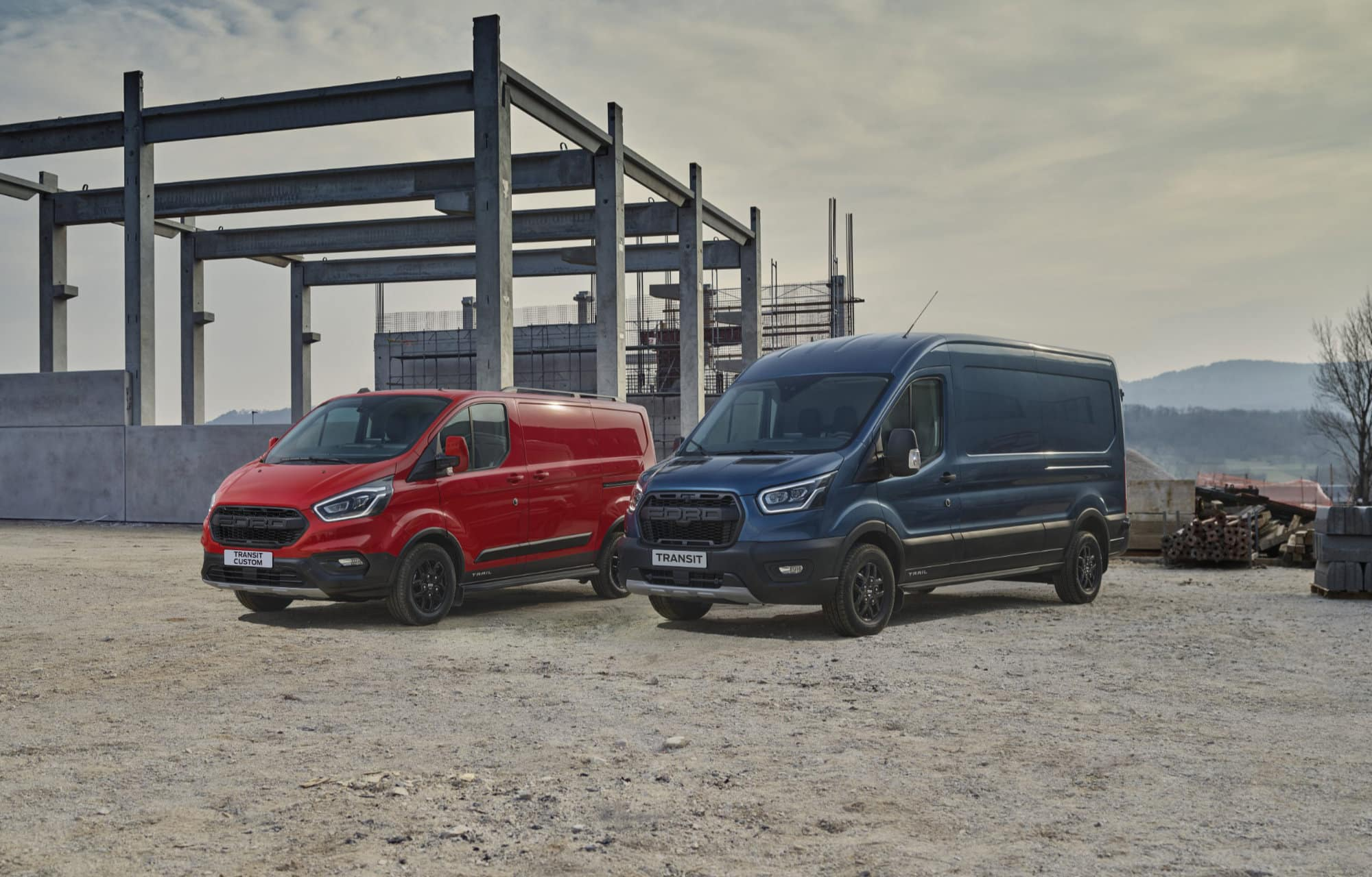 Ford Transit Trail - Ford Transit Custom Trail