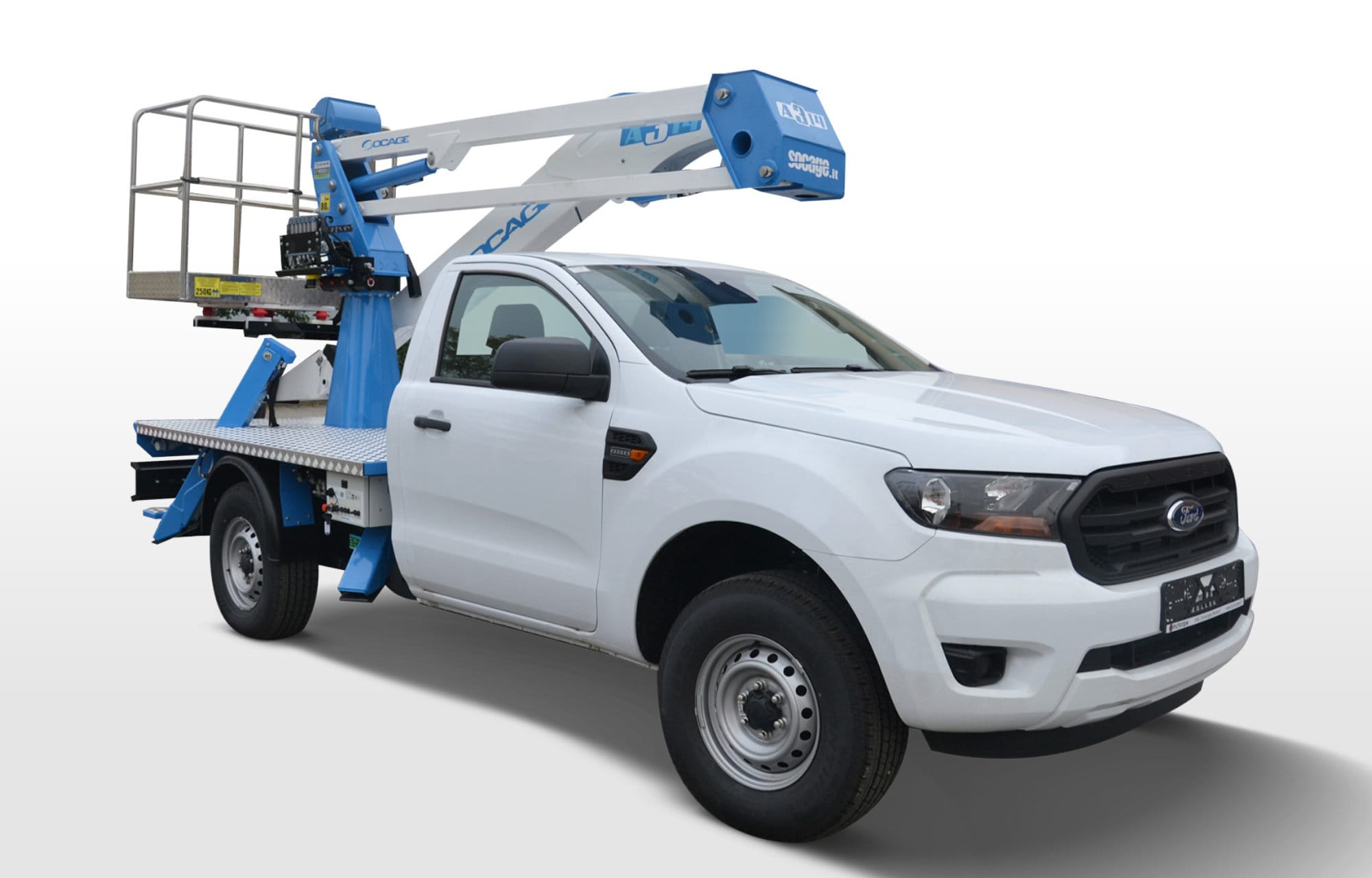 Ford Ranger Chassis-cab model
