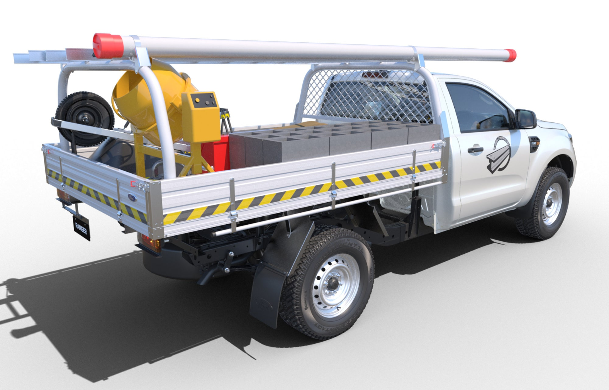 Ford Ranger Chassis Cab Model