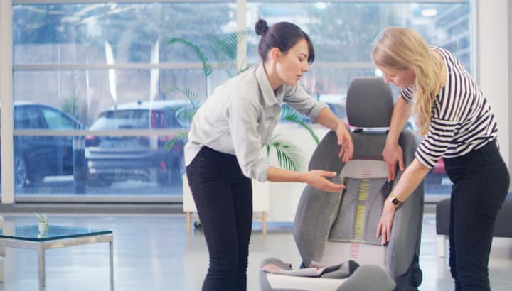 3D-geweven stoelbekleding