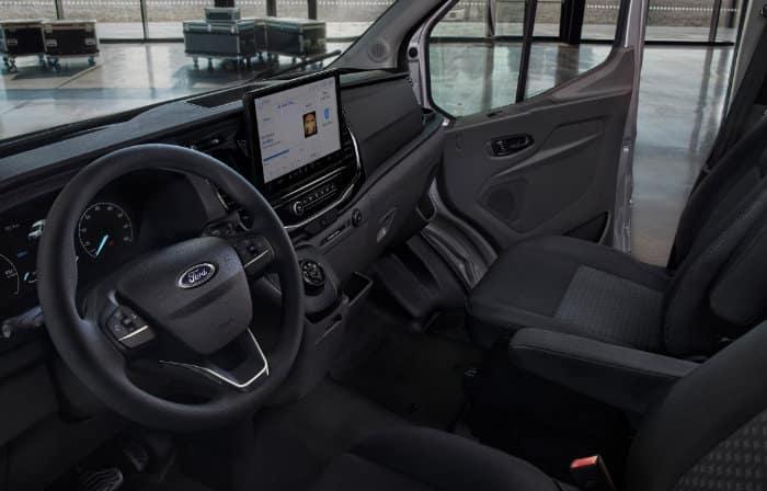Ford E-Transit interieur