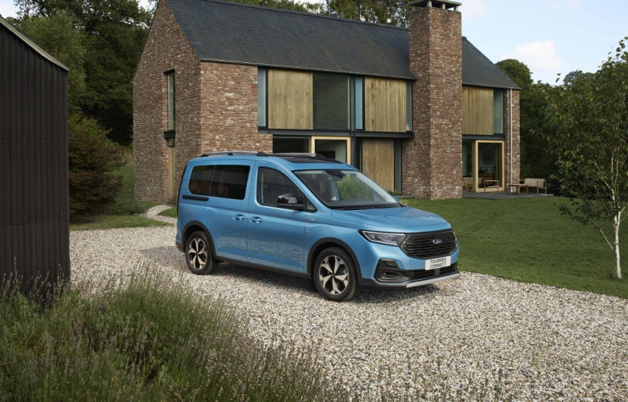 Ford Tourneo Connect voor huis
