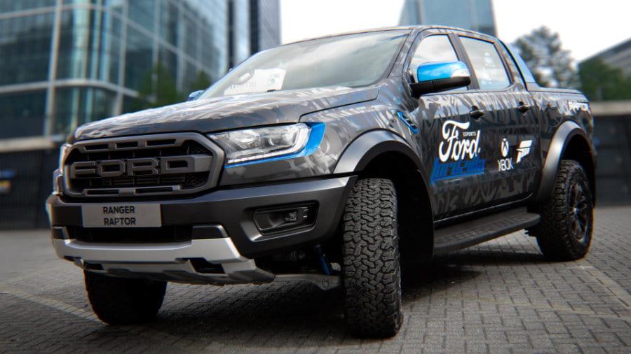 Ford Wrapped Raptor Fordzilla