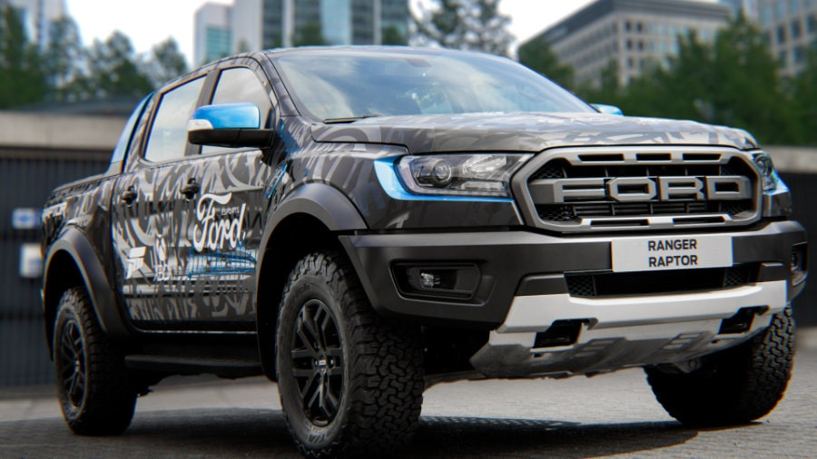 Ford Wrapped Raptor Fordzilla