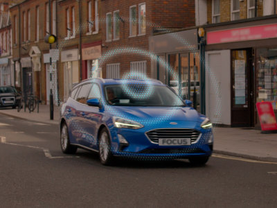Ford Focus RoadSafe Dashboard