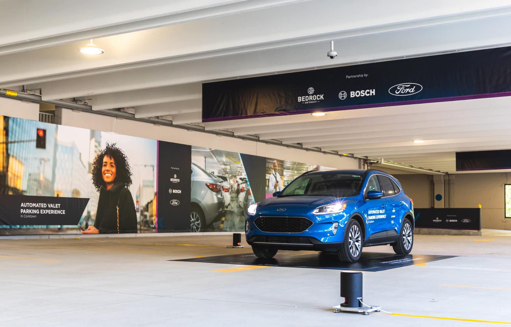 Ford, Bosch en Bedrock werken samen aan mobiliteit