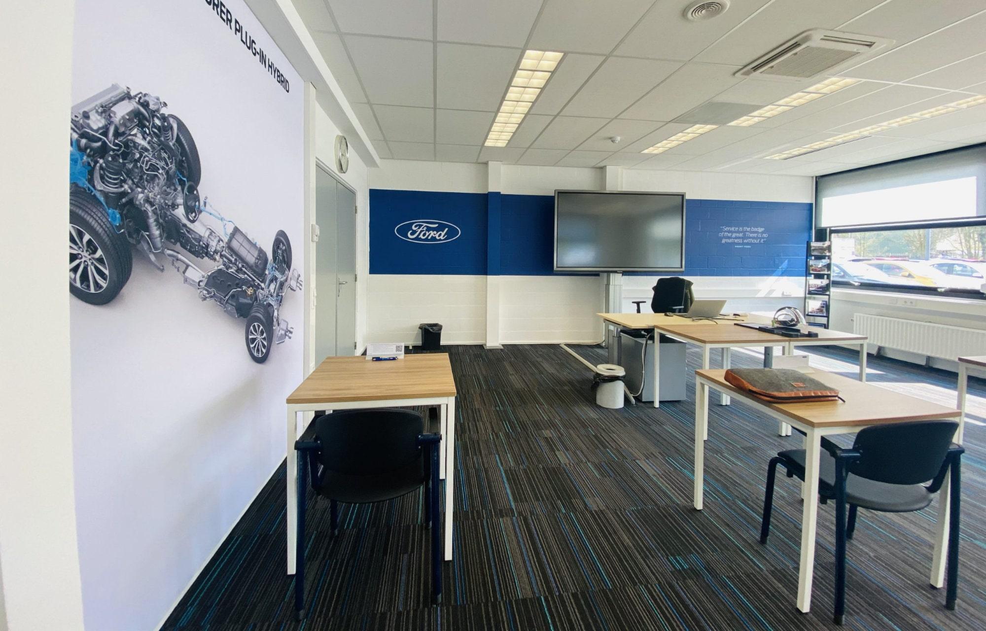 Ford Training Academy in Nieuwegein