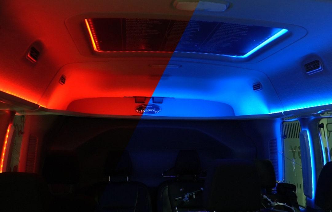 Rood-Blauw licht