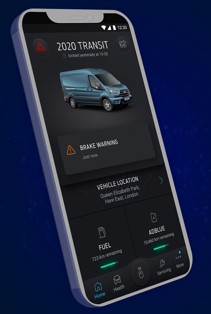 Ford Liive smartphone app