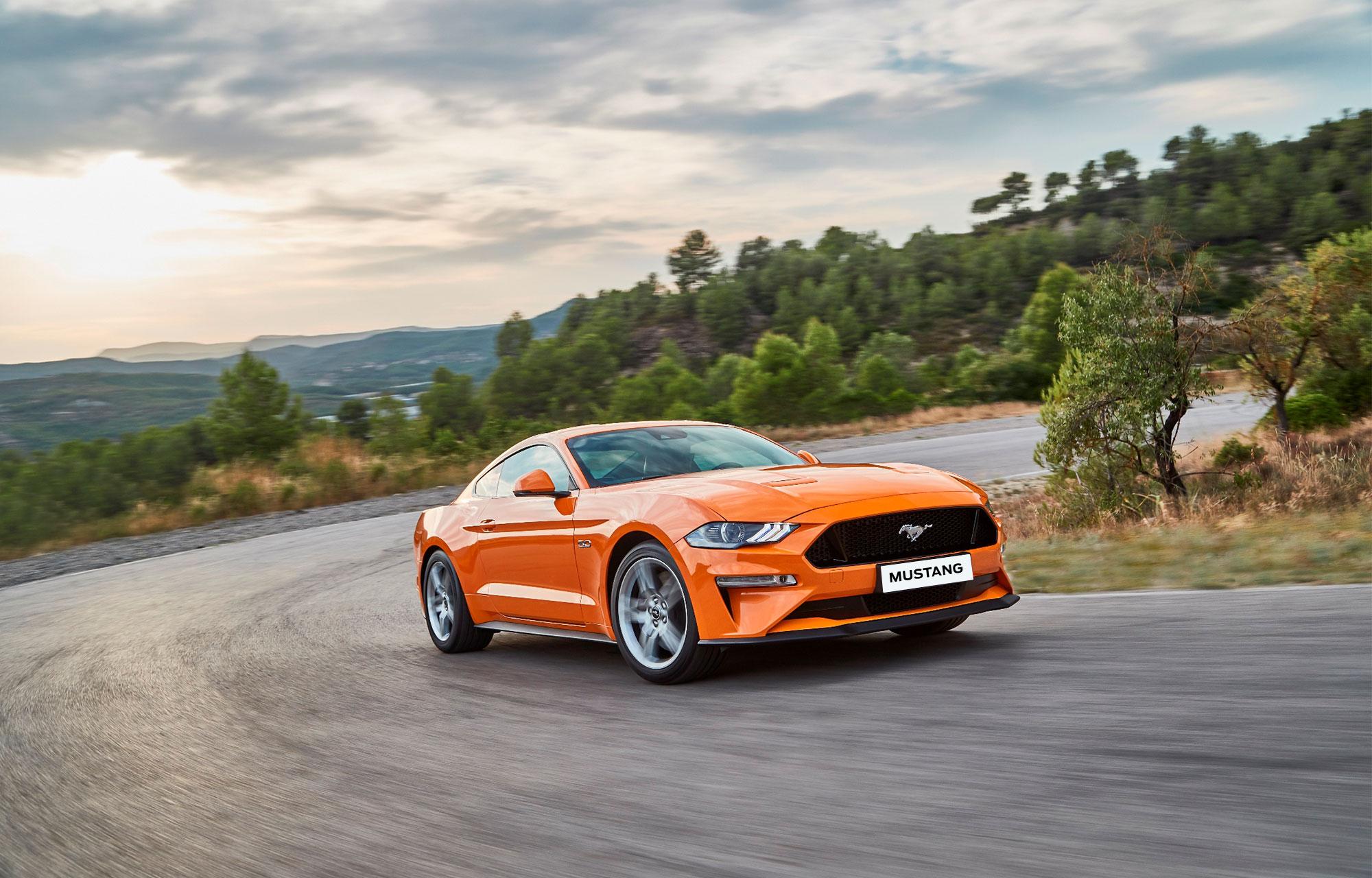 De nieuwe Ford Mustang