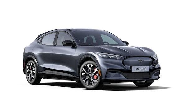 Mustang Mach-E Infinite Blue