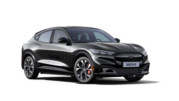 Mustang Mach-E Shadow Black