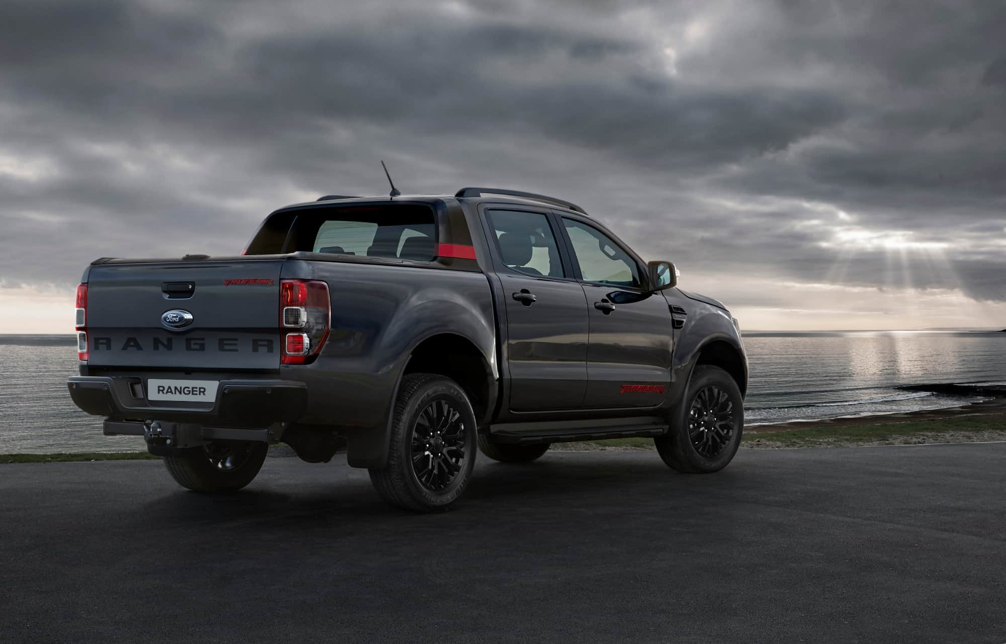 Ford Ranger Thunder Sea Grey