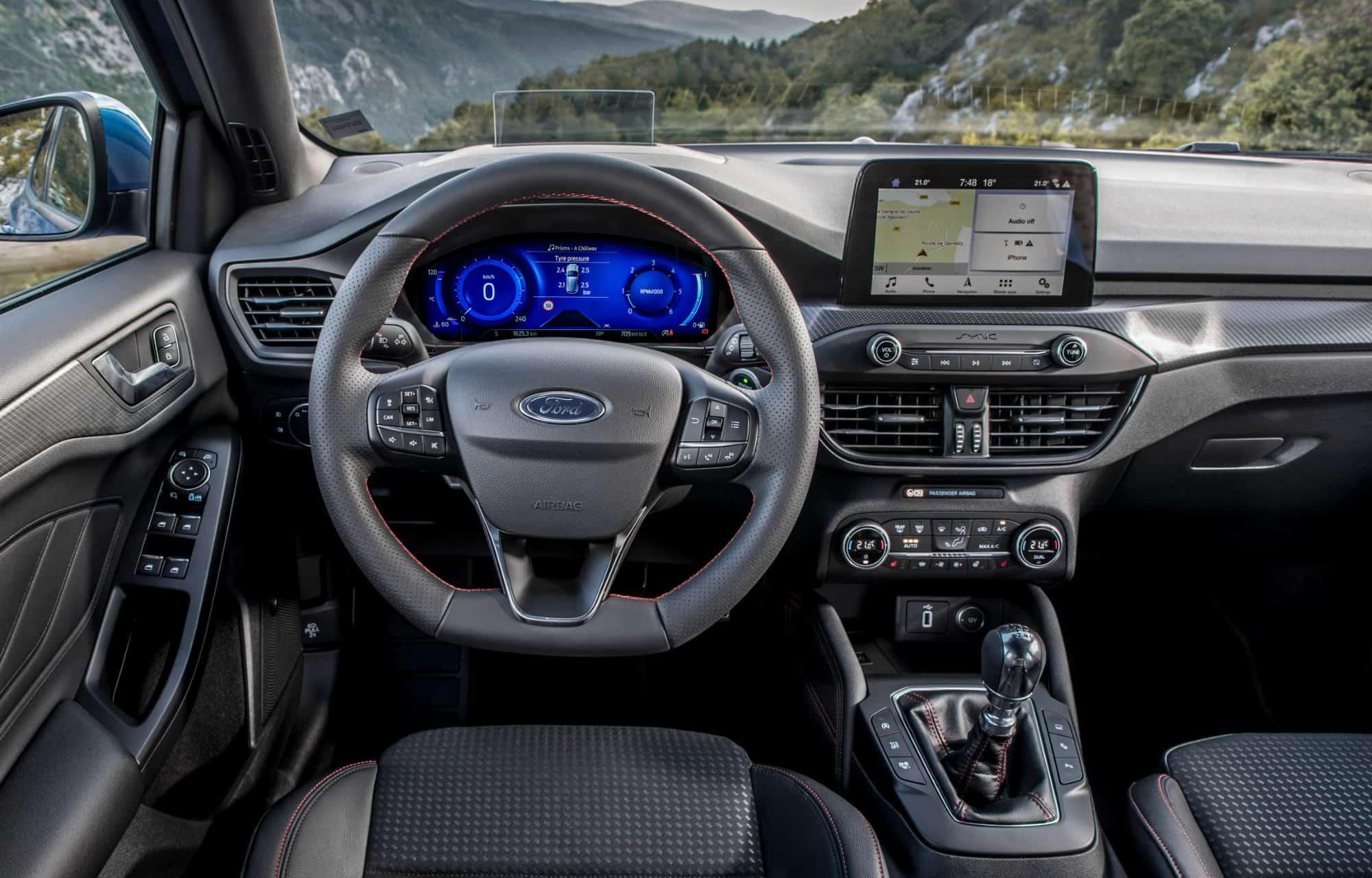 Ford Focus interiør