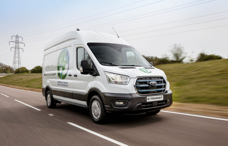 Ford E-Transit test