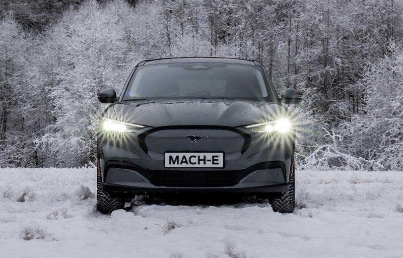 Mustang Mach-E hos Solberg Bil