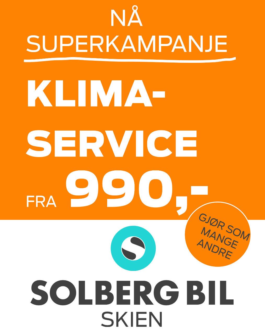 Solberg bil Superkampanje