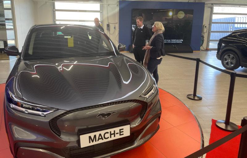 Mustang Mach-E - Første levering