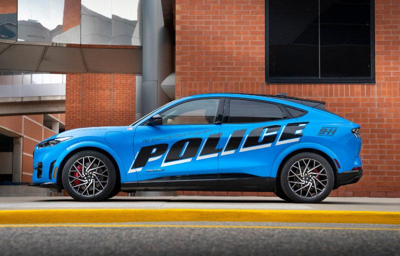 Mustang Mach-E - Politibilvariant 5