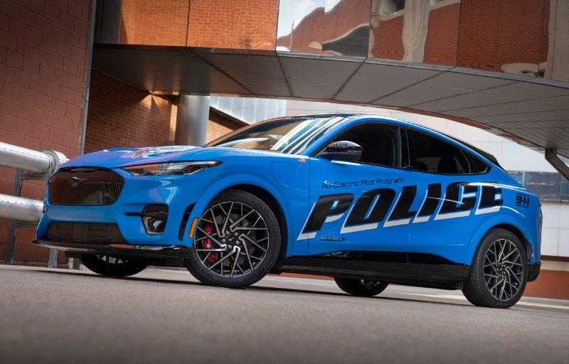 Mustang Mach-E - Politibilvariant 3