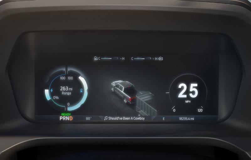 Ford F-150 skjerm