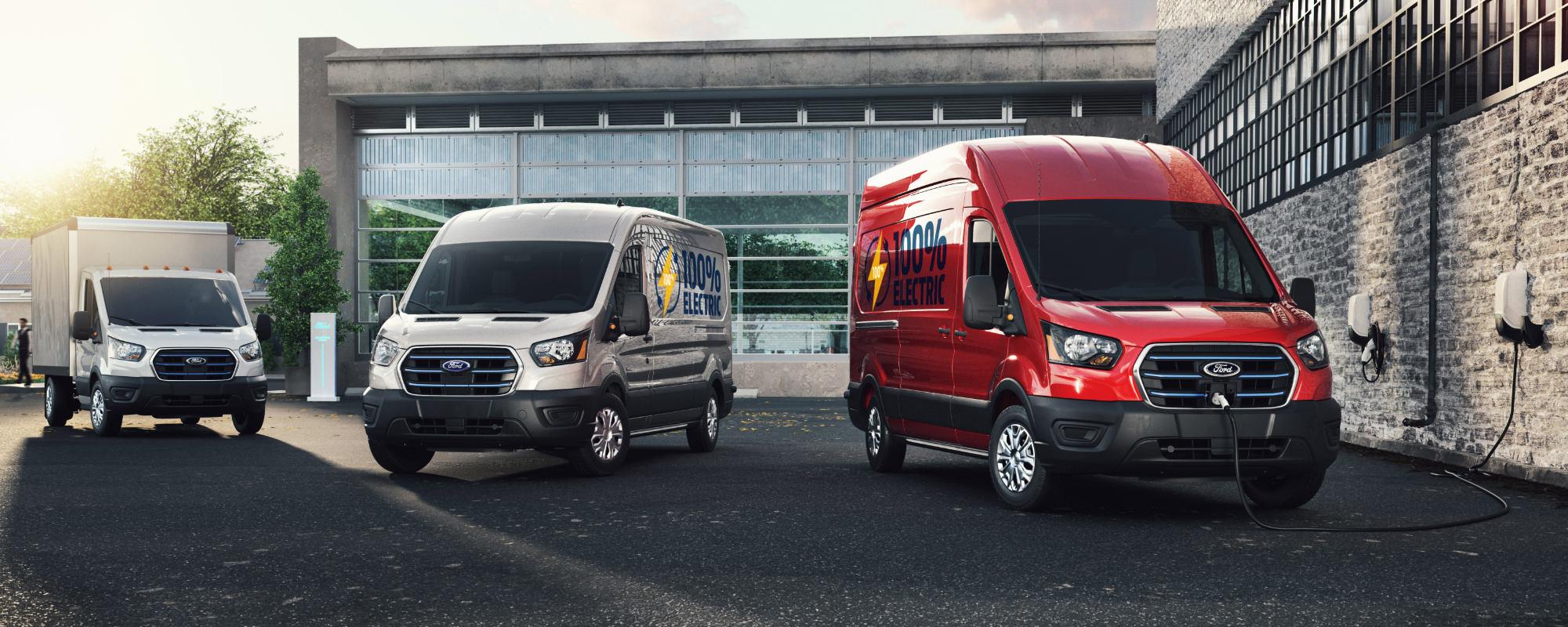 Nye Ford E-Transit