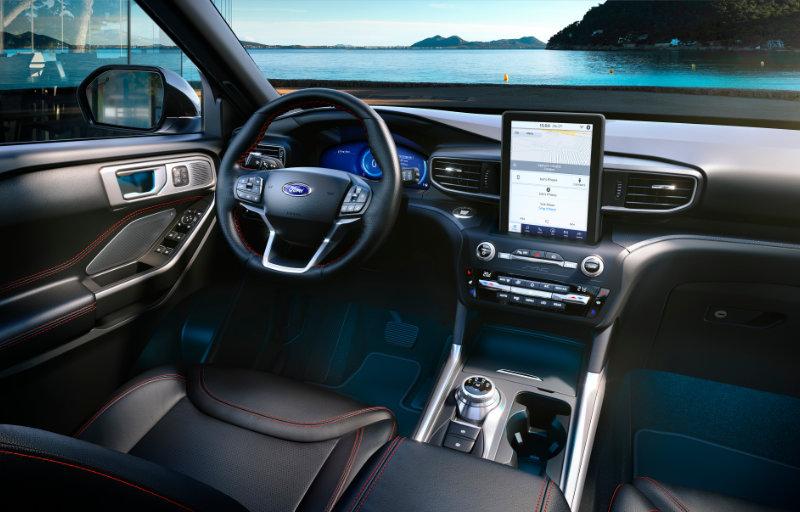 Ford Explorer interiør