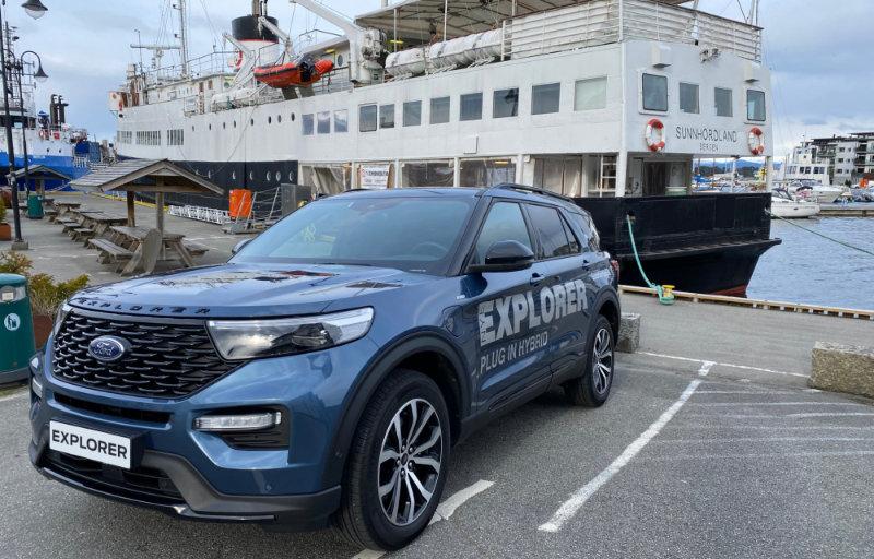 Ford Explorer ladbar hybrid på Sunnhordland