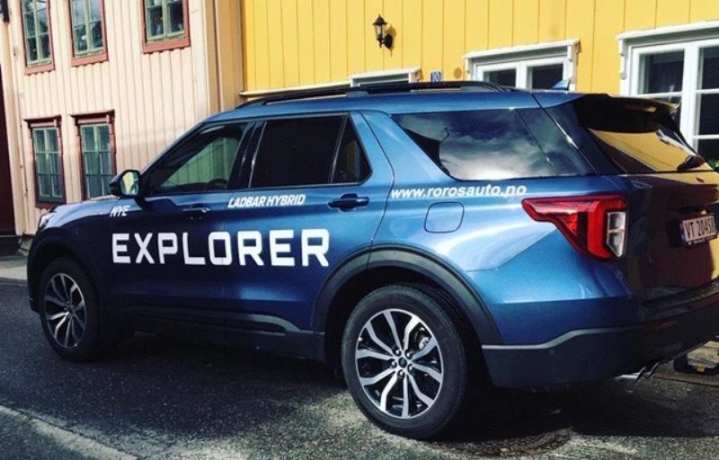 Ford Explorer ladbar hybrid