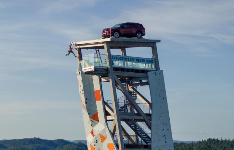 Ford Explorer konkurranse