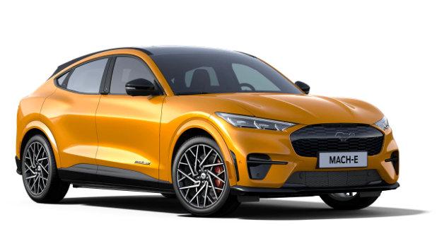 Mustang Mach-E Cyber Orange