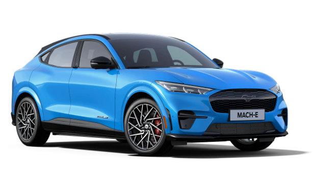 Mustang Mach-E Grabber Blue Metallic